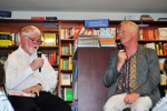 Prof Fred Mendelsohn and Dr Bill Williams in conversation - Bleed launch, 9 September 2015 at Readings, Carlton